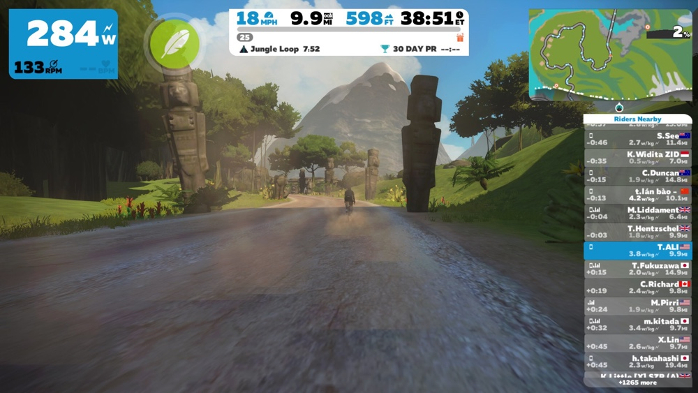 A Look At The New Zwift Jungle Route and What Else Is New