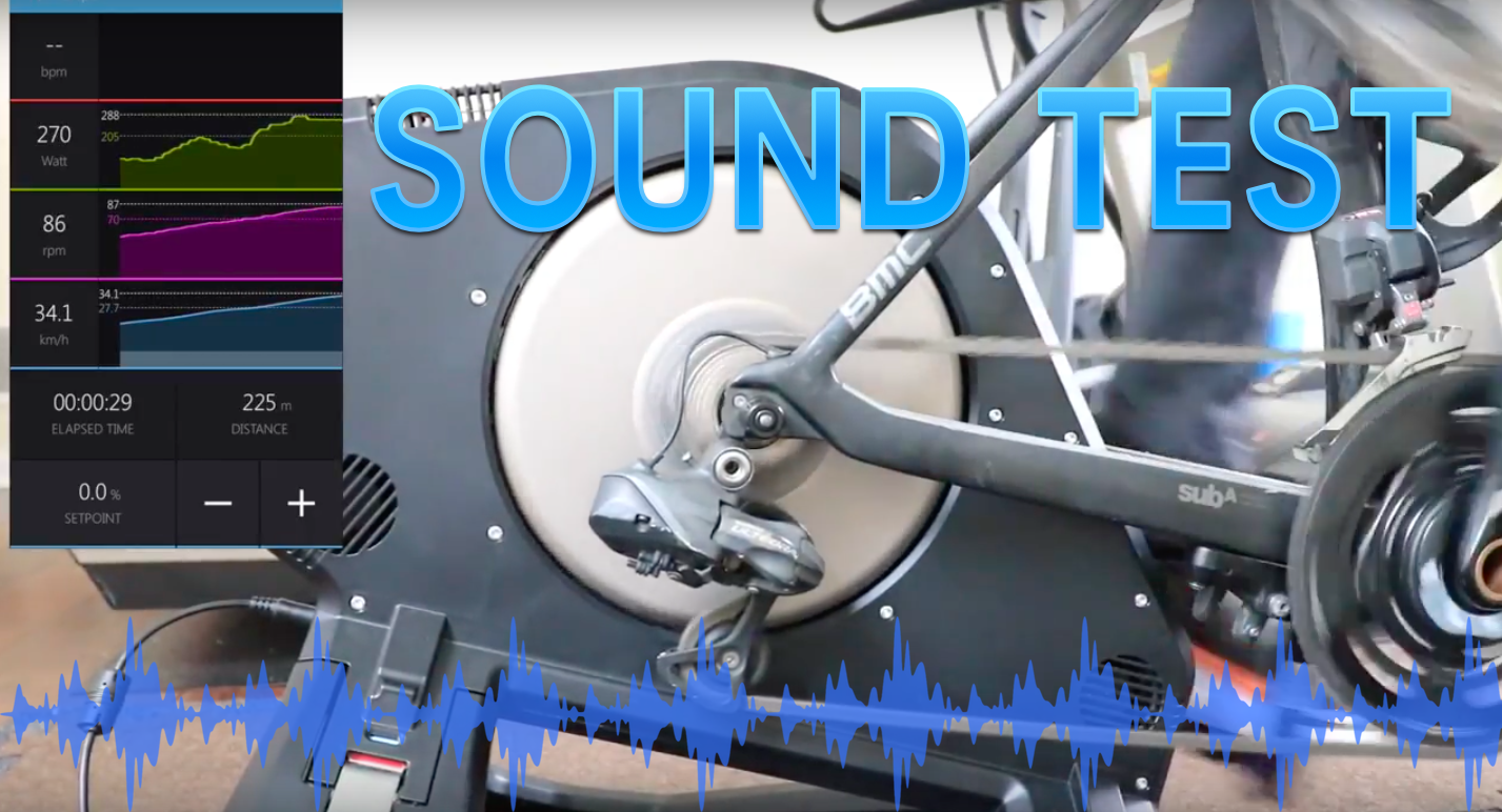 Tacx NEO Smart Trainer Sound Test | SMART Bike Trainers
