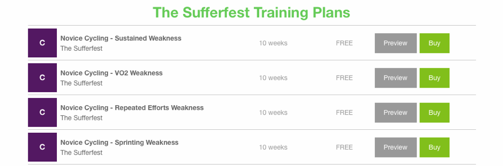 The Sufferfest Offers 35 Training Plans on TrainingPeaks For