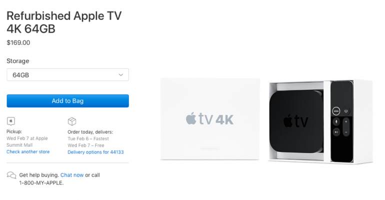 Apple Stocks Up On Refurbished Apple TV 4K Units | SMART