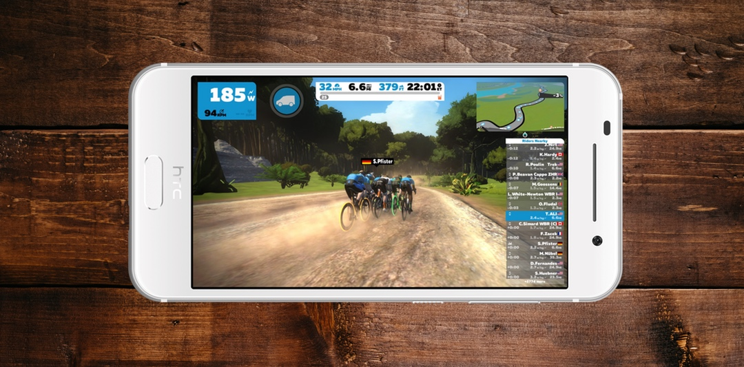 Zwift For Android Devices is Finally Available to Download   SMART