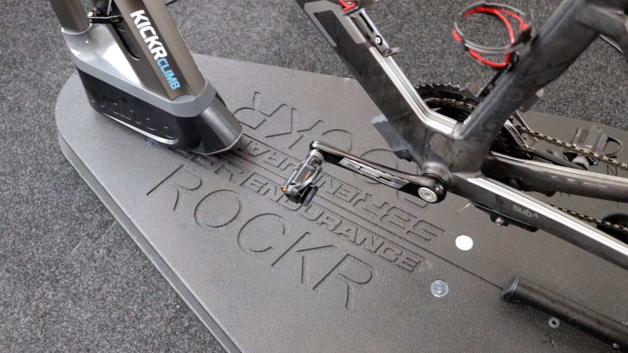 Video The Ultimate Zwift Setup Kickr Climb Amp Rockr