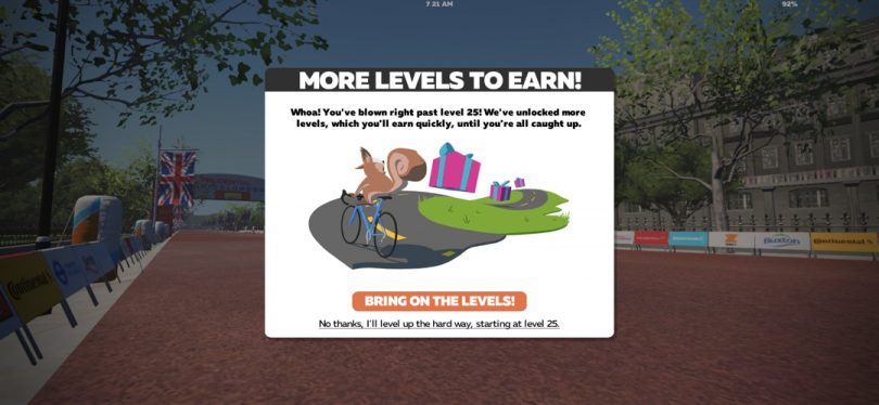 Zwift Releases New Achievement Levels and Bluetooth Support For