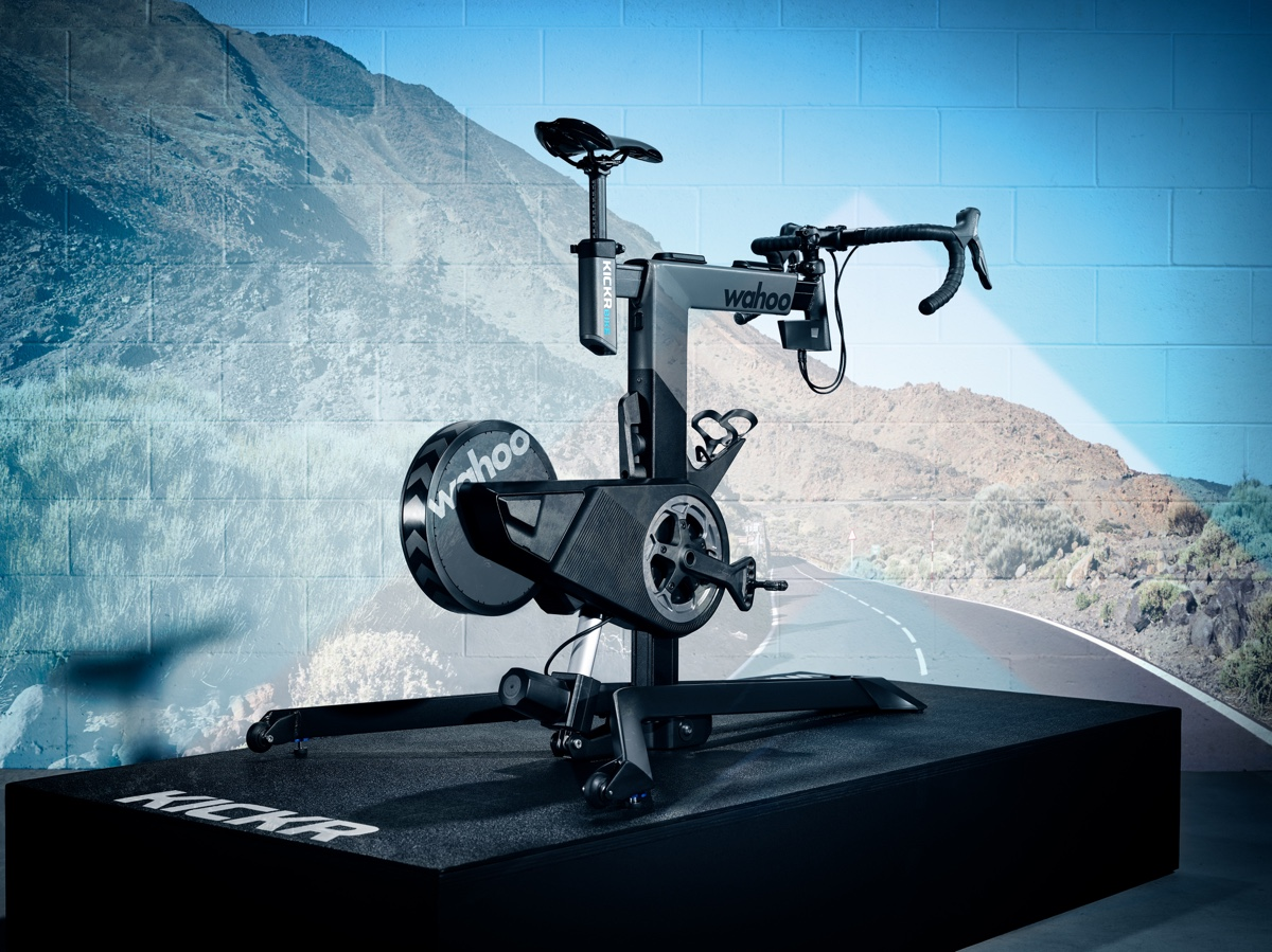 Wahoo Unveils The Kickr Bike With Integrated Grade Changes